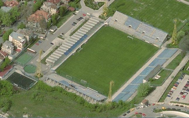 Stadionul Cotroceni are o capacitate de aproape 15.000 de locuri