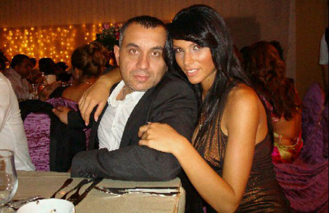 Razvan Alexe, alaturi de iubita lui, Alina