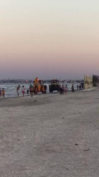 Caz revoltator pe o plaja din Mamaia