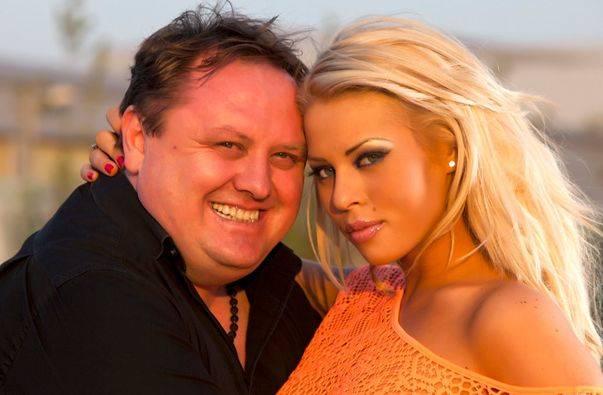 Roxana Nemes, alaturi de iubitul ei oficial, impresarul Radu Groza