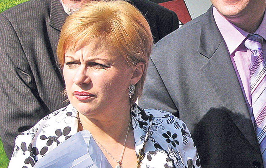 Renata Marin este a treia sotie a lui Dan.