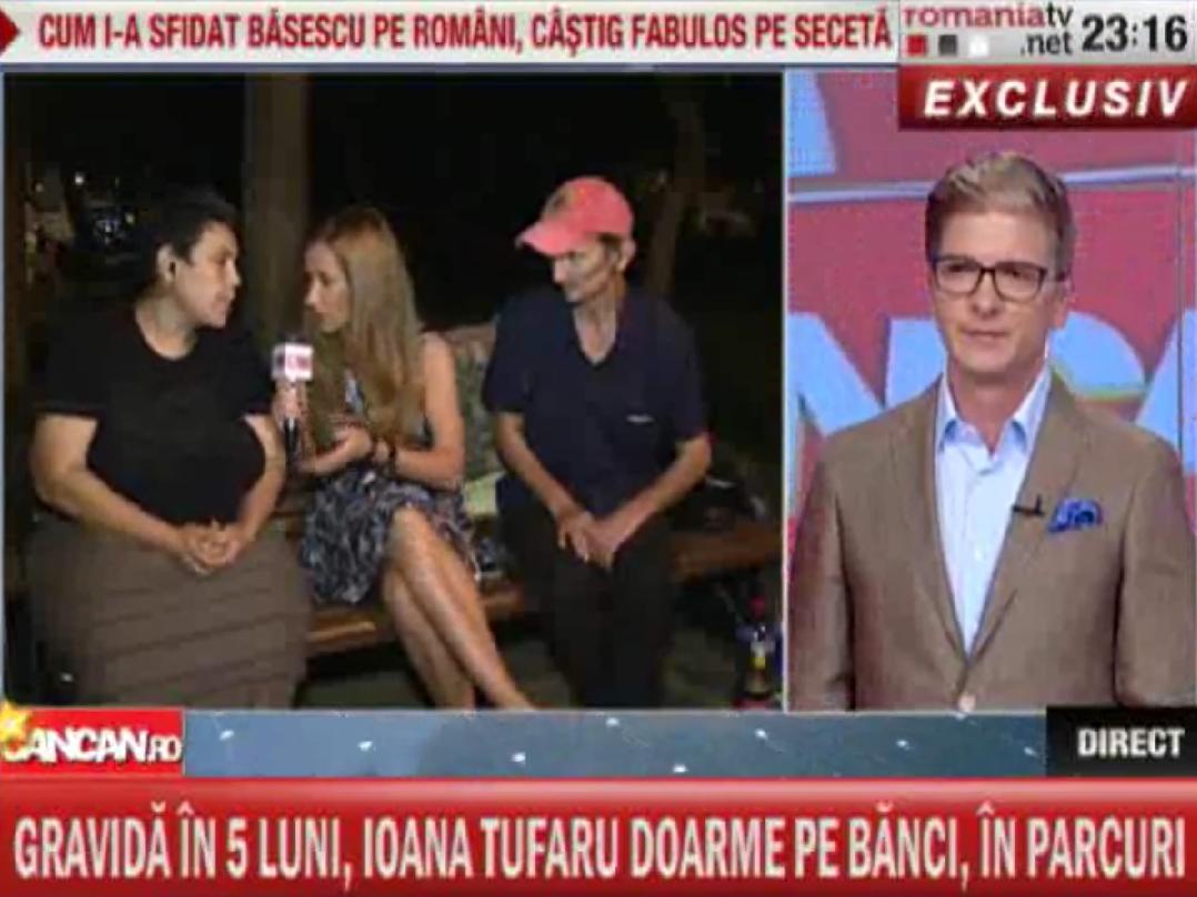 Drama Ioanei Tufaru a fost prezentata pe larg in emisiunea Cancan.ro, difuzata la Romania TV, duminica seara, de la ora 23