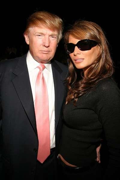 Donald Trump si Melanie Knauss