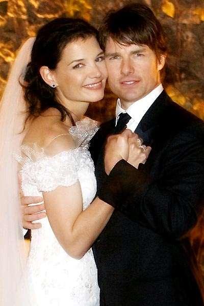Tom Cruise si Katie Holmes