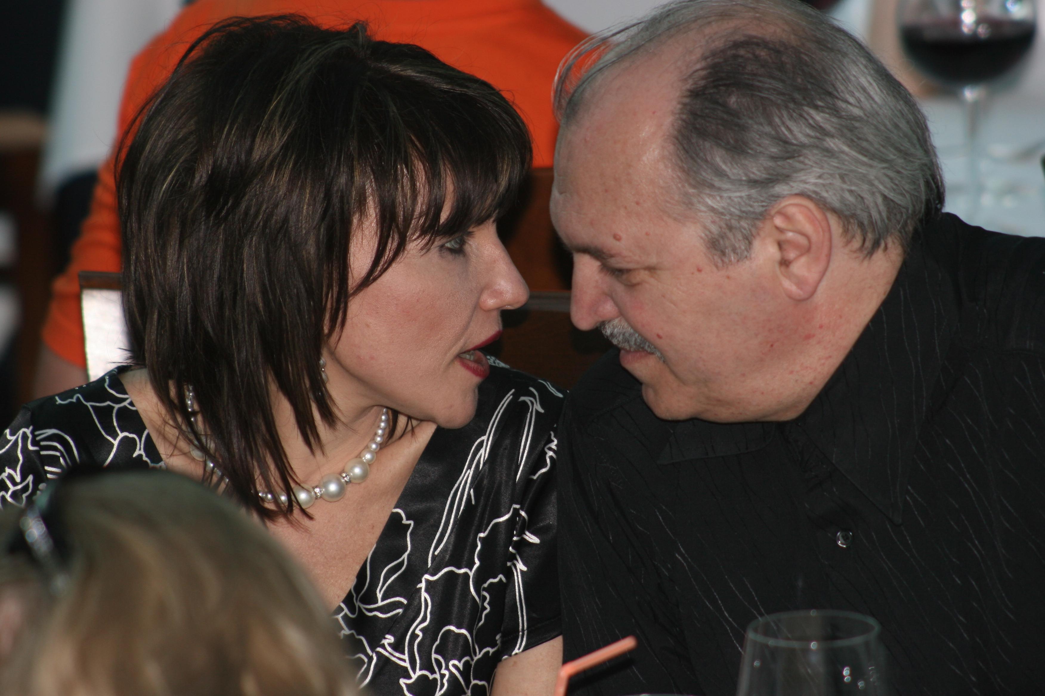 Marina Almasan si Victor Socaciu, pe vremea cand formau un cuplu fericit