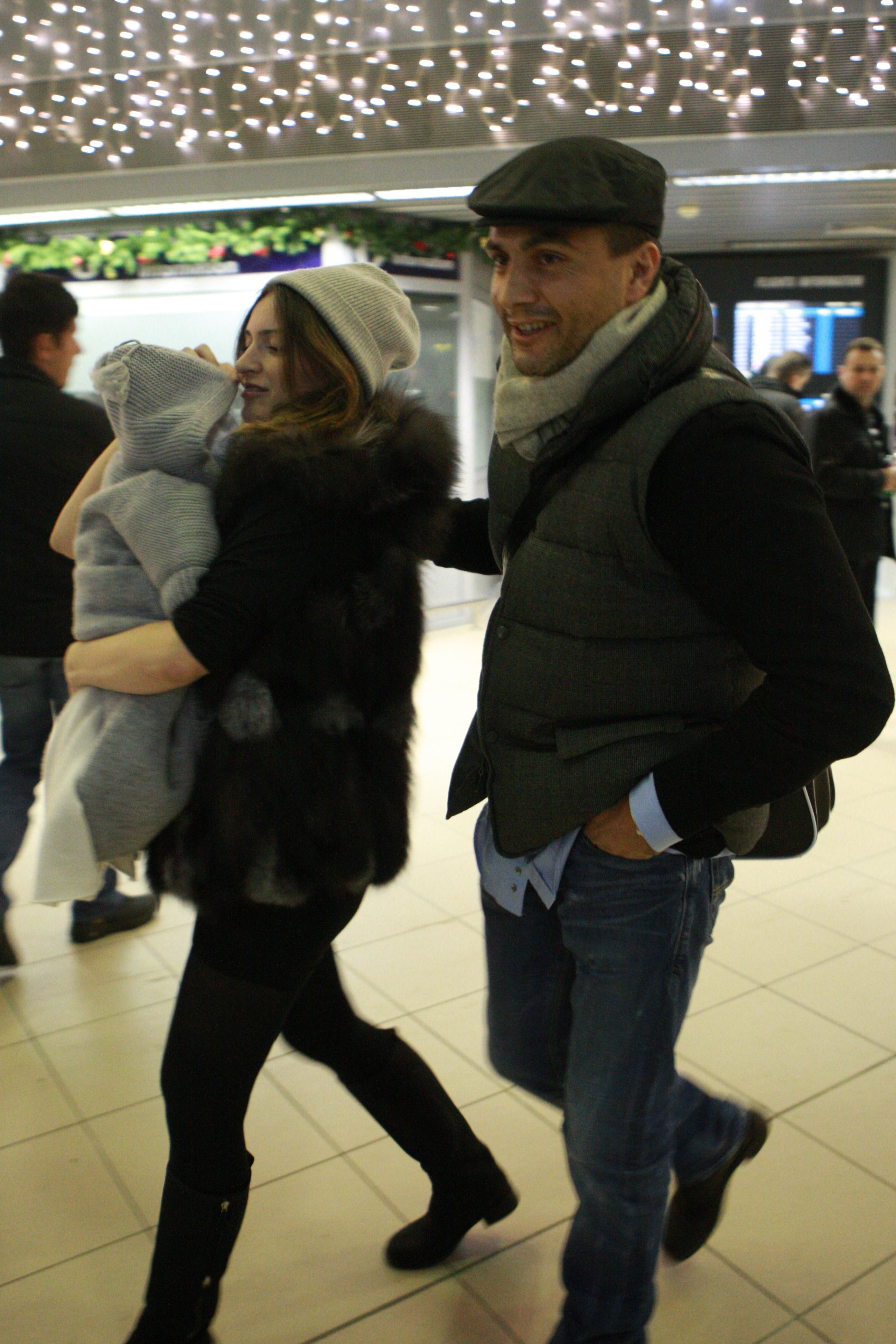 Frank, Maria si copilul lor