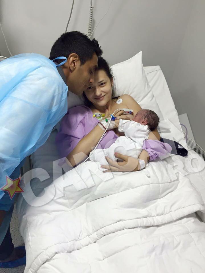 Cristina i-a daruit lui Banel Nicolita doua fetite