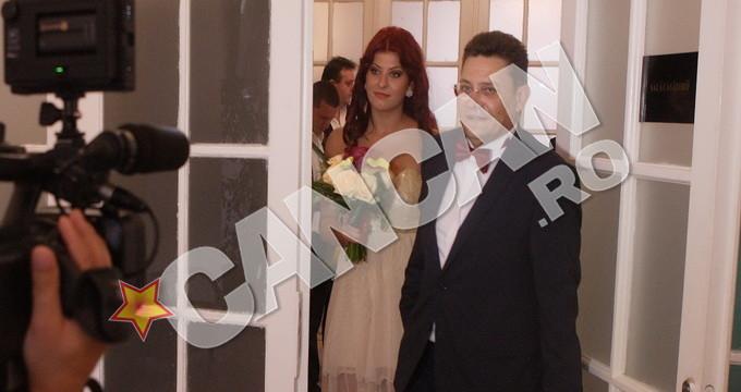 Mihail Balasescu si fosta sa sotie, Ana Maria Burchel