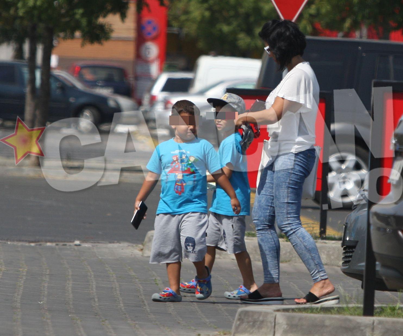 Fosta sotie a lui Silviu Prigoana si copiii ei