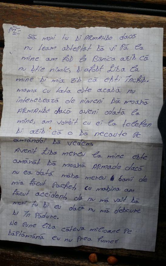 Scrisoare de la puscarie