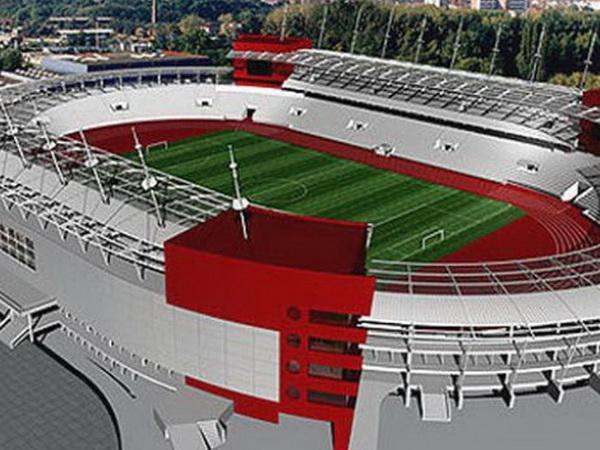 Macheta stadion Dinamo