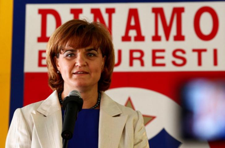 Elisabeta Lipa este presedintele Clubului Sportiv Dinamo