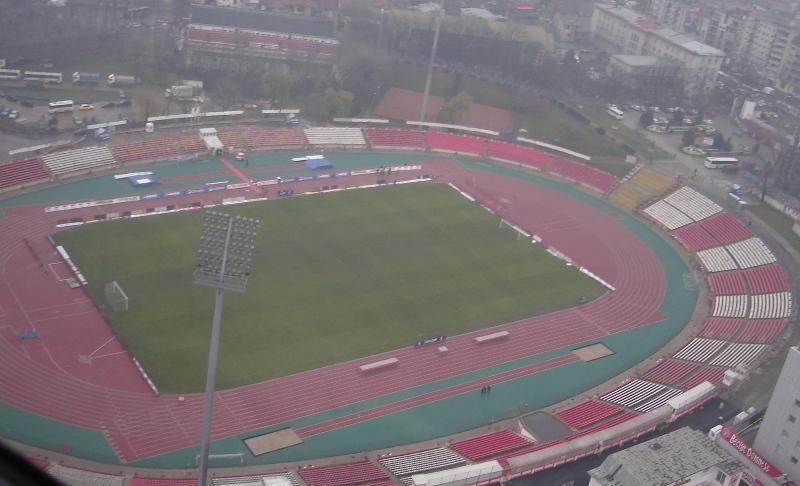 Stadionul Dinamo a fost construit in anii 50