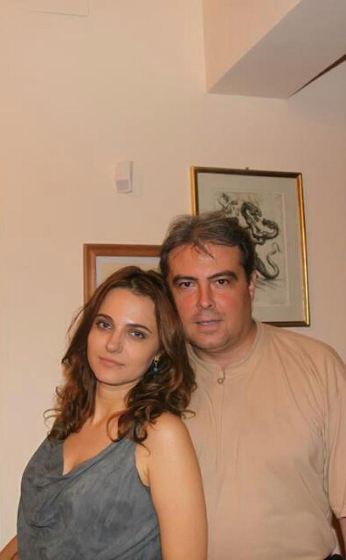 Adrian Cioroianu si Alexandra Coman