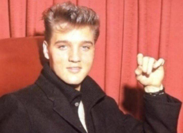 Elvis era blond