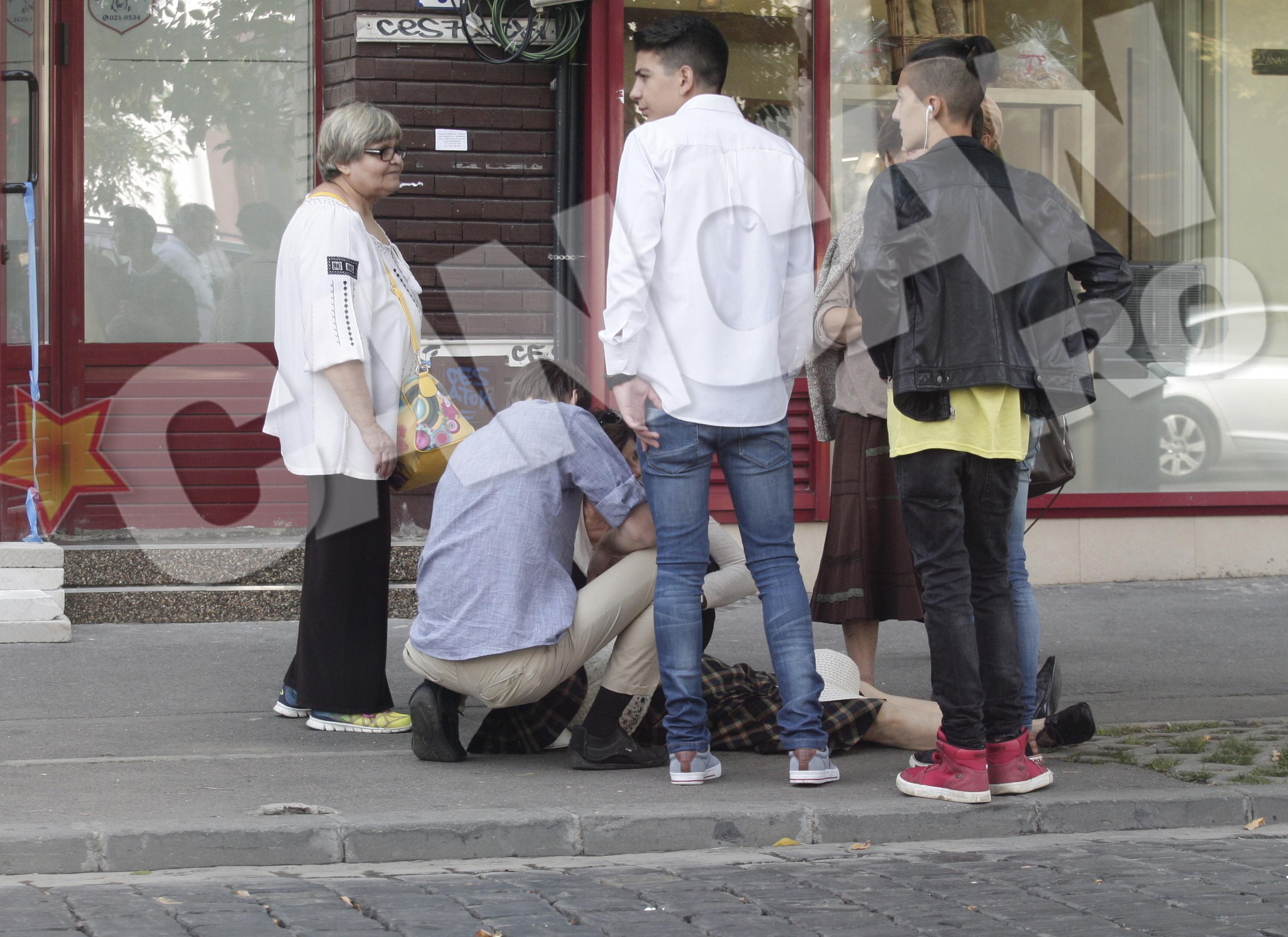 Cristina Copos a sarit in ajutorul femeii