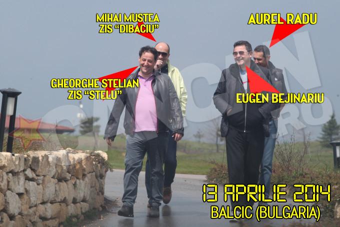 Imaginea-proba a unei intalniri secrete, in Bulgaria, intre membrii gruparii