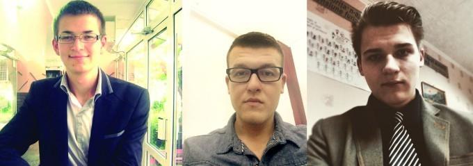 Casian Harpa, Aurelian Giosan, Victor Nour