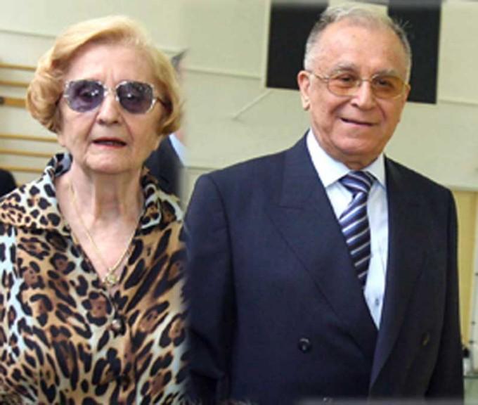Nina si Ion Iliescu