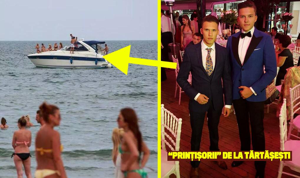Printisorii de la Tartasesti au prins gustul distractiilor pe yachturi