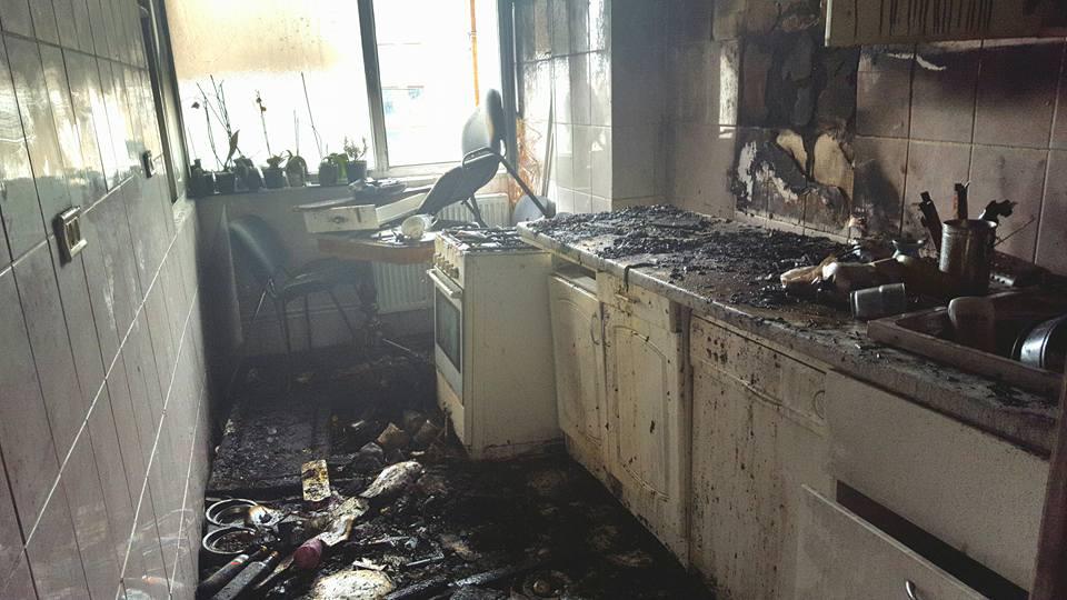 Paguba produsă de incendiul din casa Aidei Parascan se ridica la aproape 7 mii de euro