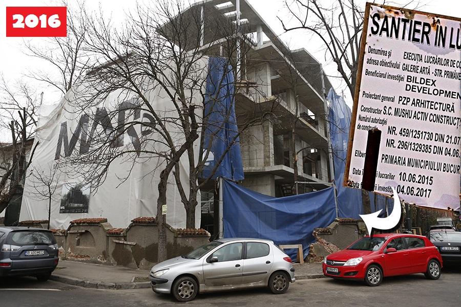În locul clădirii de odinioară se va ridica un aşa-zis Muzeu de Artă Recentă, lucrările fiind stagnate deocamdată