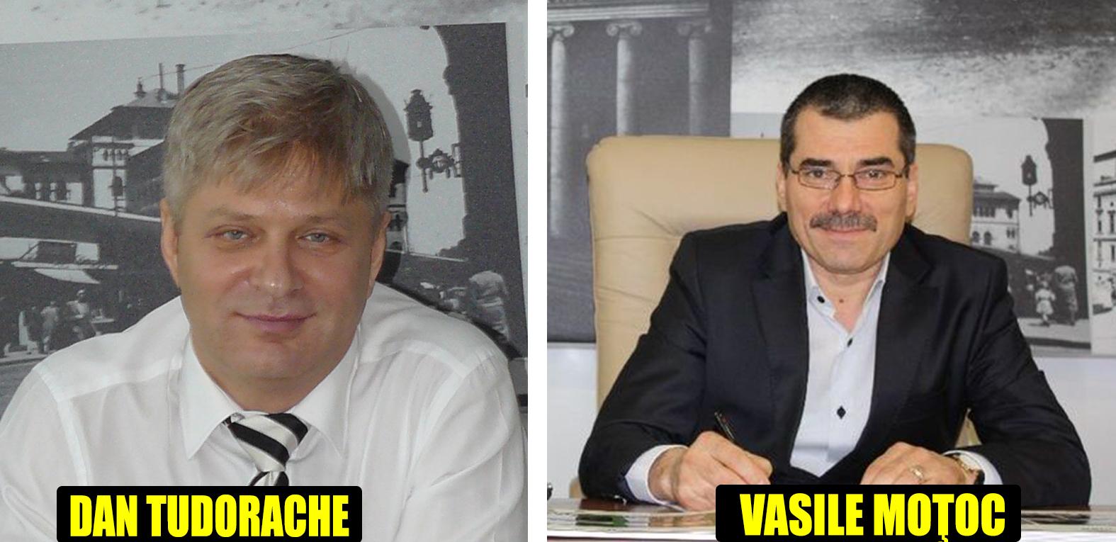 Dan Tudorache, omul PNL, oficial şef PSD sector 1, şi actualul primar interimar Vasile Moţoc au fost vedetele denunţurilor consilierilor de la Primăria Sector 1