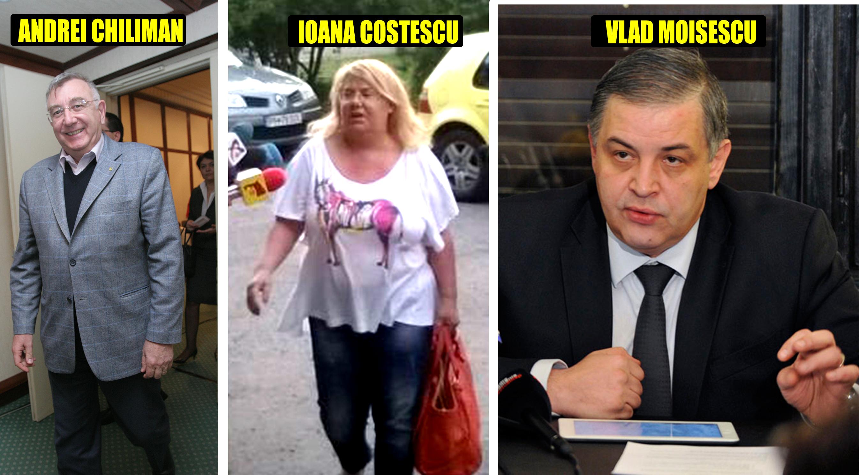 Tripleta care peste un deceniu a controlat cel mai bogat sector al României, de la stânga la dreapta: primarul oficial, primarul de facto şi omul din spate