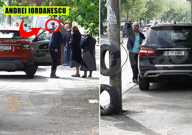 Anghel Iordănescu a venit la locul accidentului