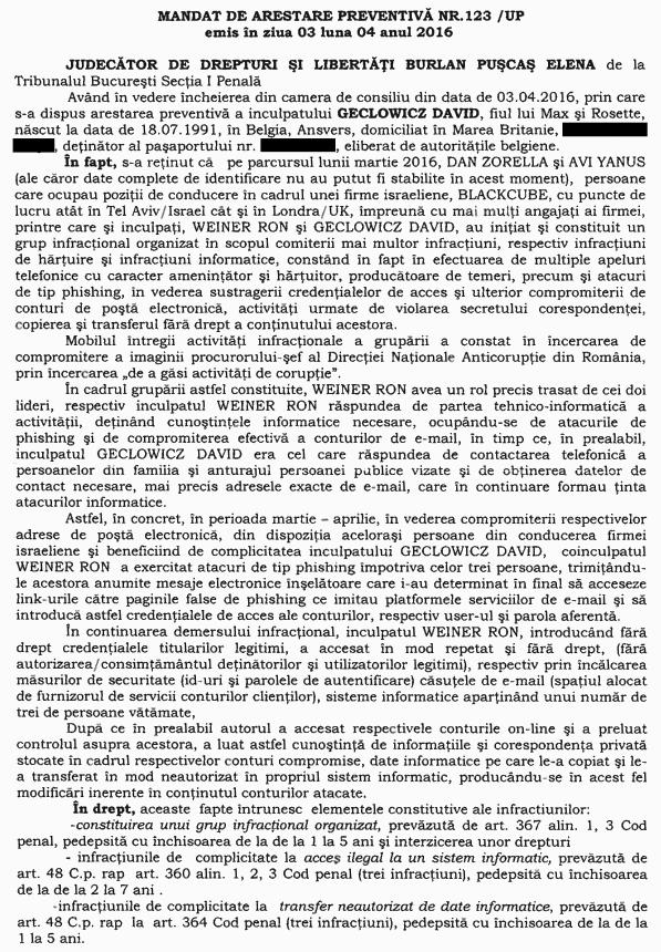 """Laura Codruţa Kovesi a fost """"ţinta"""" unei încercări de compromitere din partea unor foşti ofiţeri Mossad"""
