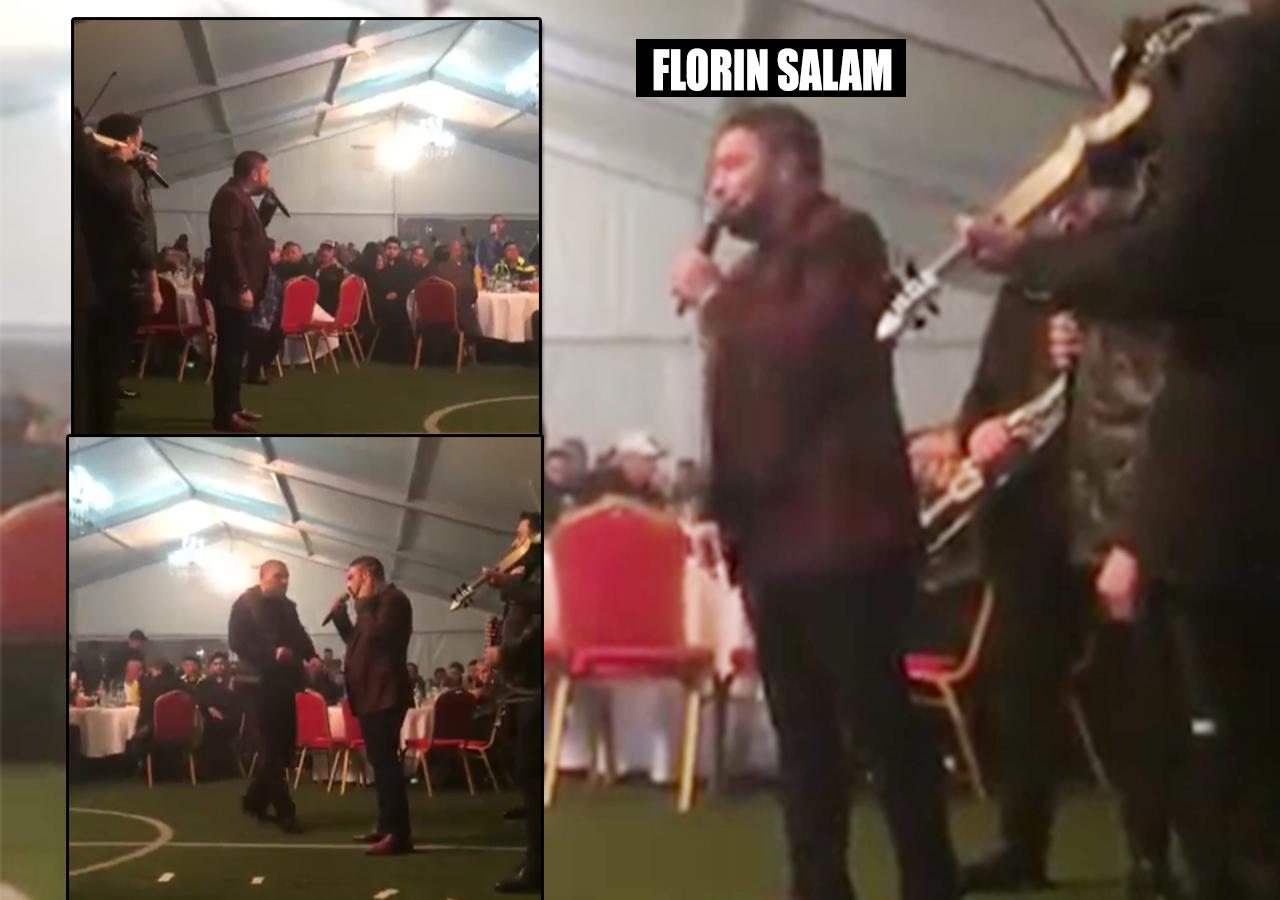 """Florin Salam a făcut dedicaţii pentru... """"Fane Spoitoru, Regele României, Naşul Romîniei""""!"""