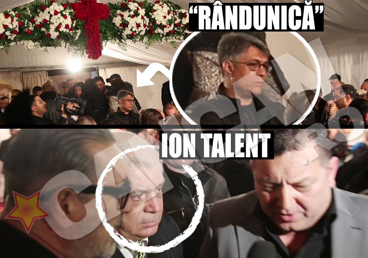 """Interlopul """"Rândunică"""" şi Ion Talent (tatăl lui Pepe) au fost şi ei la priveghiul din prima noapte"""