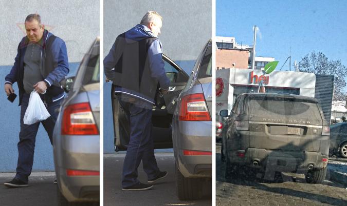 ''Luki'' foloseşte acum Skoda, în timp ce Range ul Sport stă ascuns în garaj!