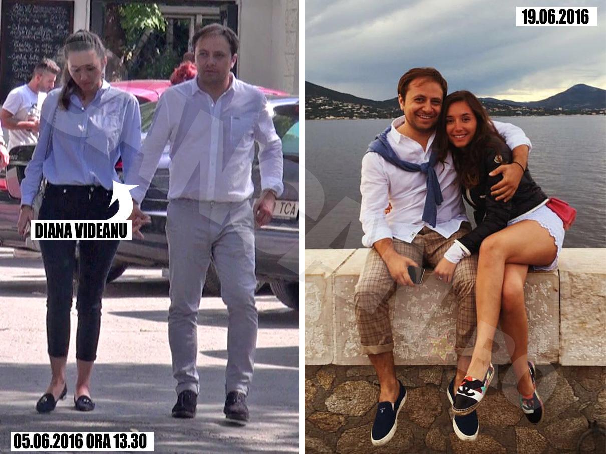 Iubirea dintre Diana şi Bogdan s-a consumat la Saint Tropez