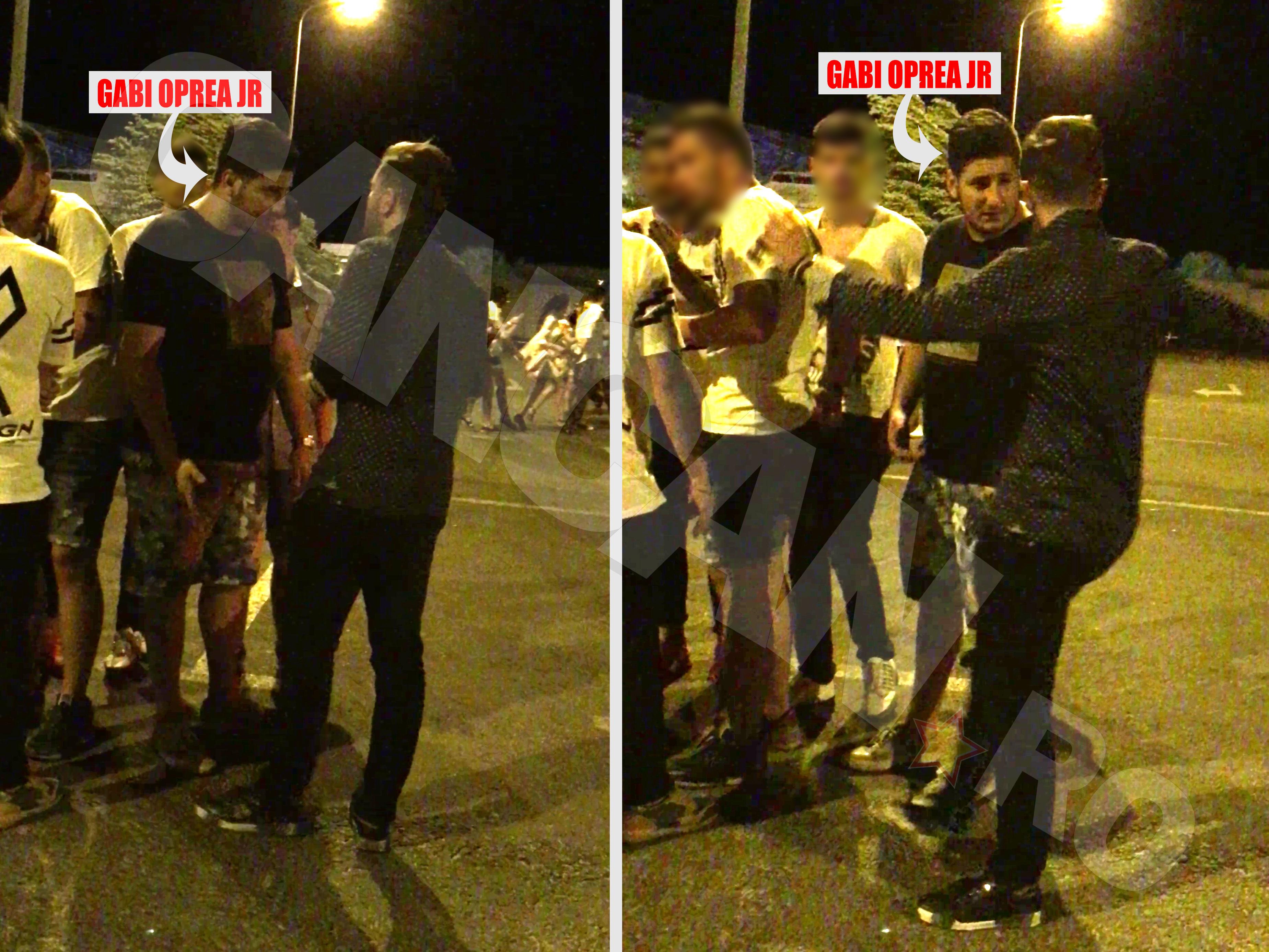 Gabi Oprea Jr. a dat dovadă de mult tact şi şi-a salvat tovarăşii de la bătaie în parcarea clubului Loft din Mamaia