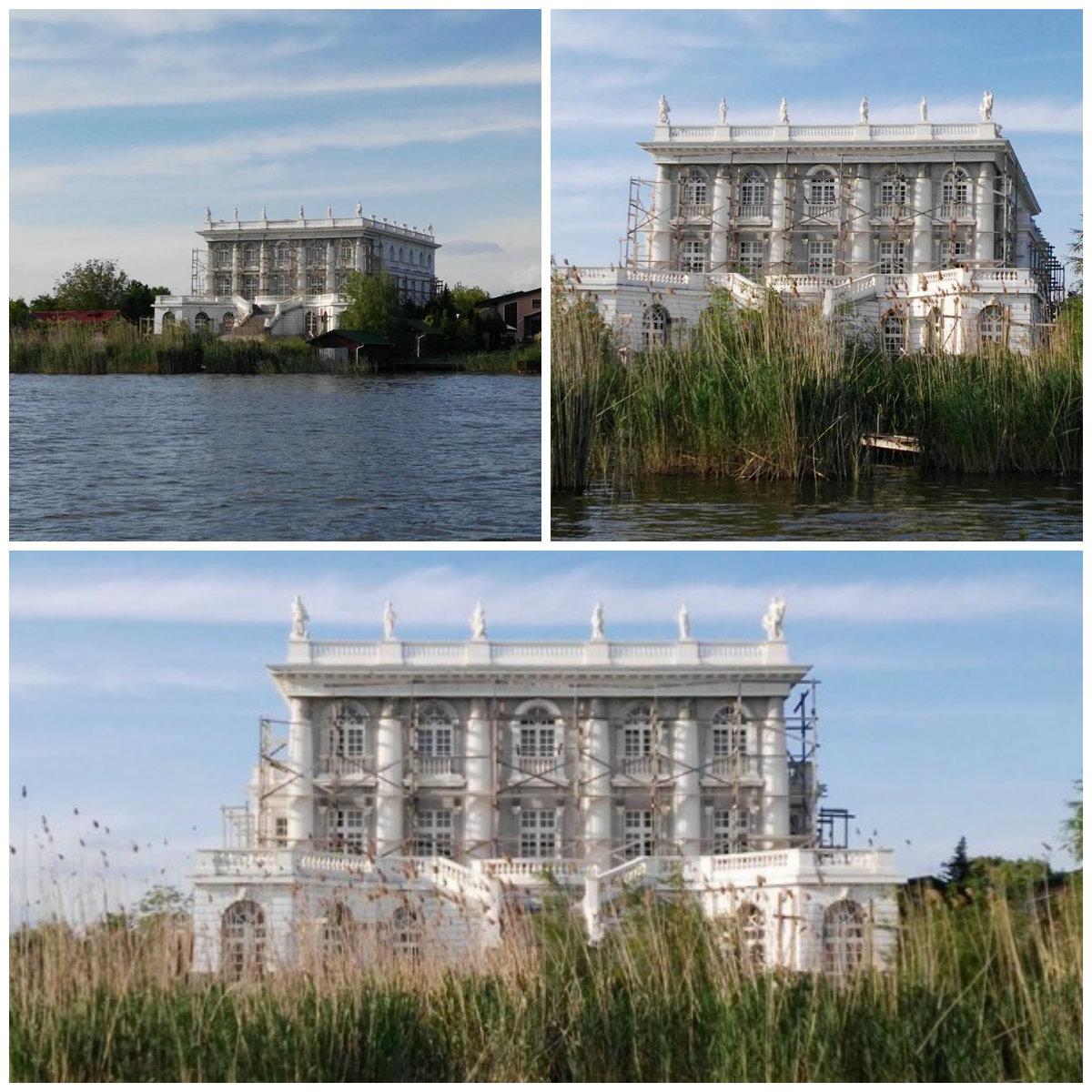 Acesta se presupune a fi palatul lui Dorin Cocoş.