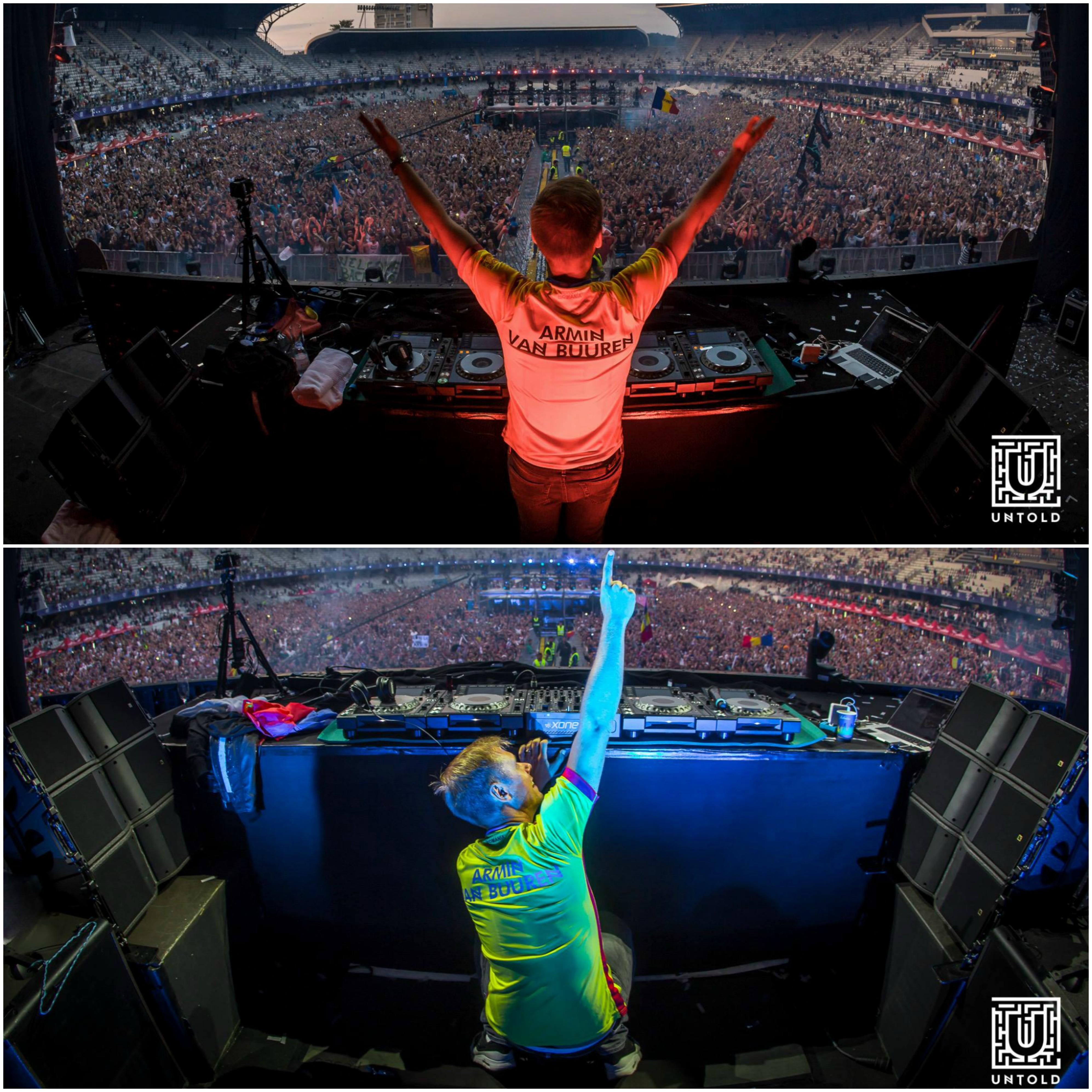Armin a făcut senzaţie până în zori! SURSĂ FOTO: Pagină Facebook UNTOLD