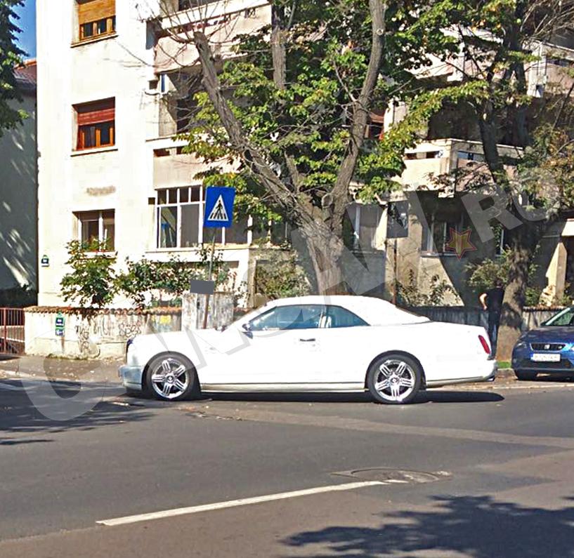 Dan Nicorescu şi-a parcat Bentleyul ca un adevărat boss de boss!