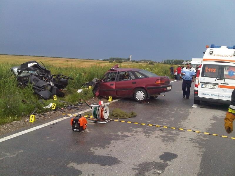 Cum arăta locul accidentului provocat de Claudiu