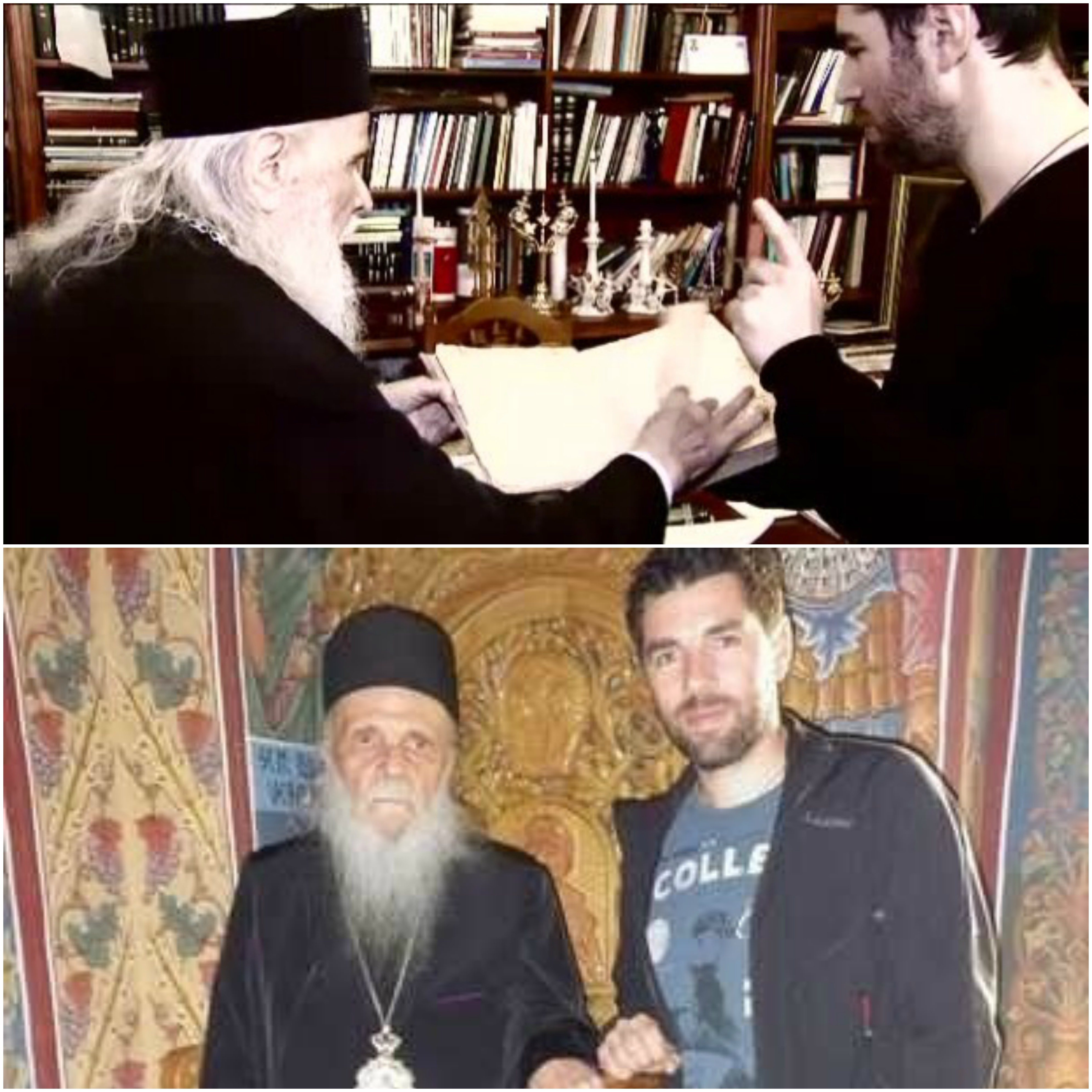 Jurnalistul a fost impresionat de Episcopul Iustinian, atunci când a realizat un interviu cu acesta.