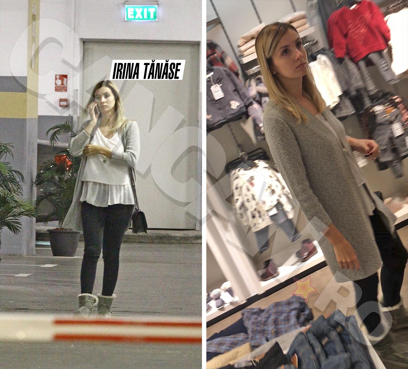 La capătul unei zile de muncă, Irina Tănase a dat fuga la mall înainte să ajungă acasă