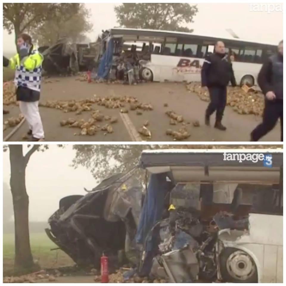 Accident grav în Francia