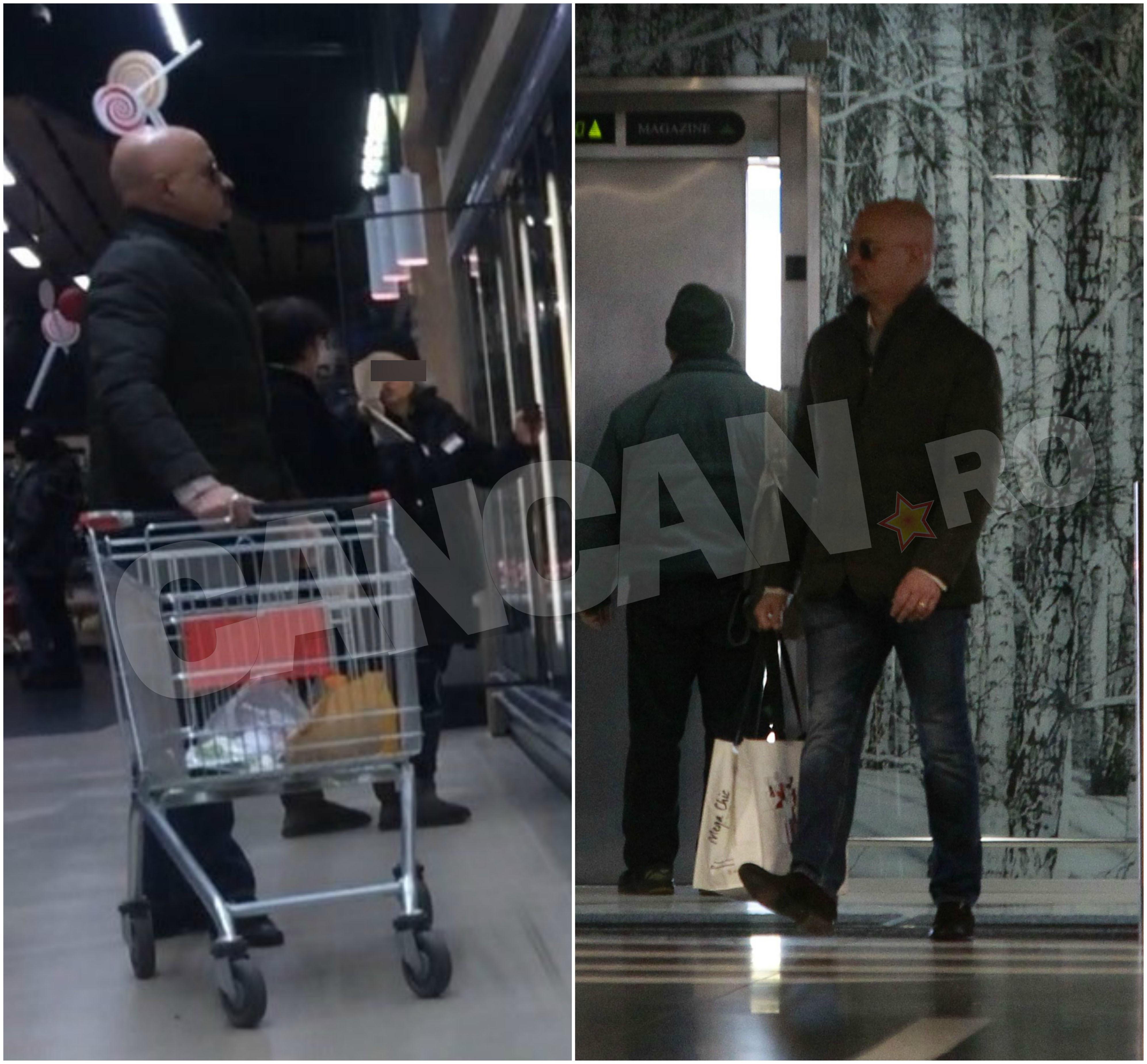 Chiar şi la cumpărături, Don Nic nu uită să-şi ia toate măsurile de precauţie pentru a se asigura că rămâne neobservat!