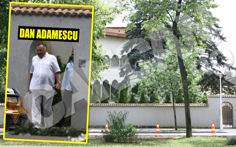 Aceasta e doar una dintre super-vilele pe care Dan Adamescu le deţine. Casa este situată într-o zonă exclusivistă din Bucureşti