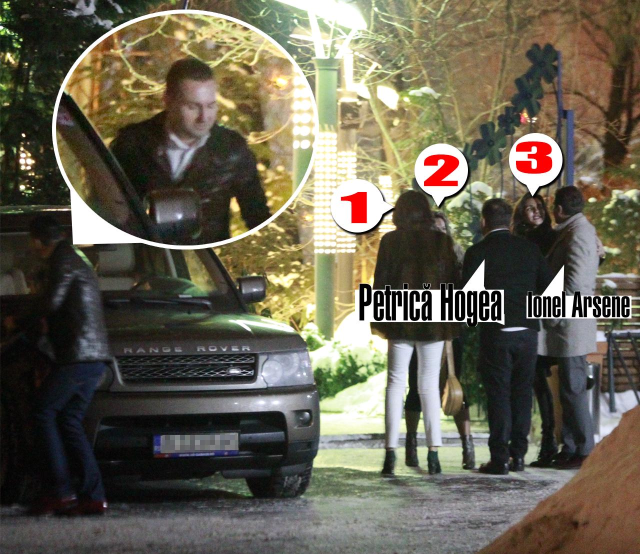 Gasca s-a spart in parcare unde toti s-au pupat cu toti. Barbatul din medalion a luat o parte din doamne si a plecat cu ele. Cine stie unde...Cine il recunoaste ne poate scrie la pont@cancan.ro