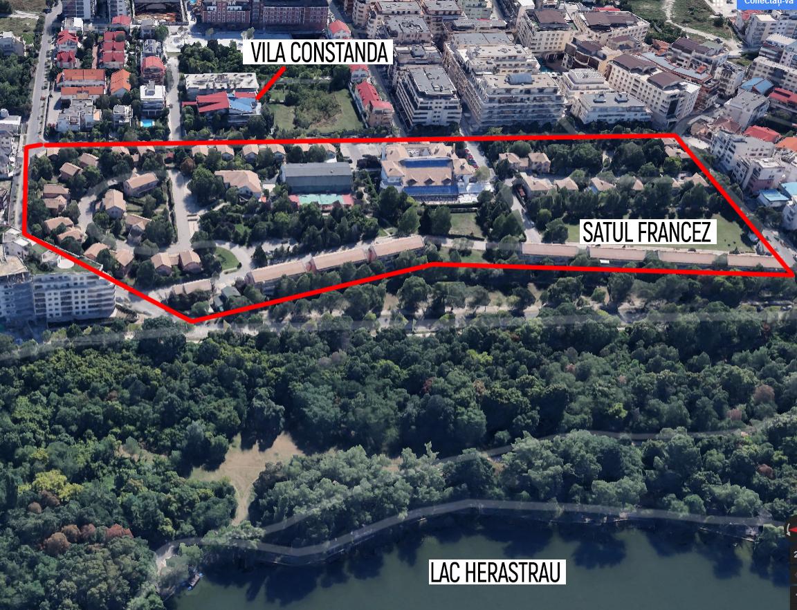 După ce executorii i-au scos la licitaţie super-vila din zona de Nord a Bucureştilor, milionarul riscă acum să piardă şi proprietăţile pe care le deţine în Satul Francez