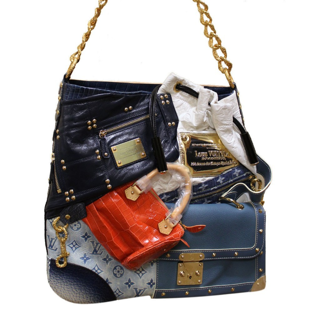 #8 LV Tribute Patchwork Bag – 42.000 de dolari
