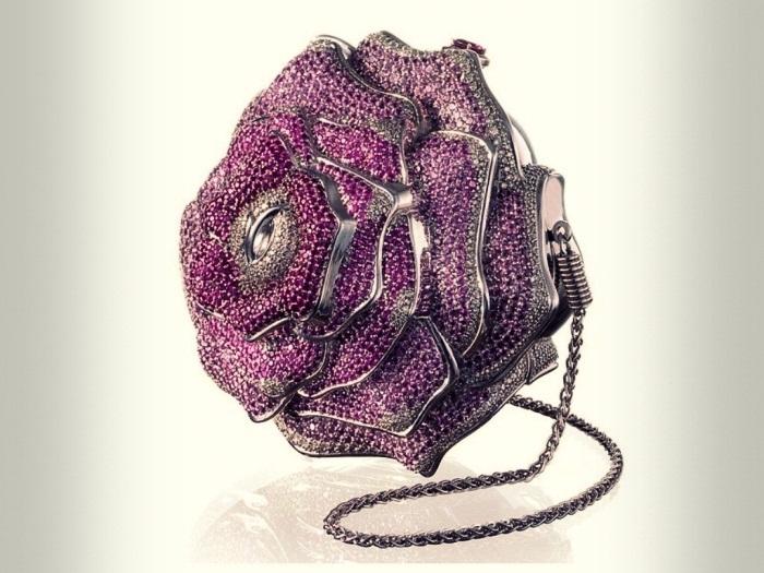 #7 Leiber Precious Rose Bag – 92.000 de dolari