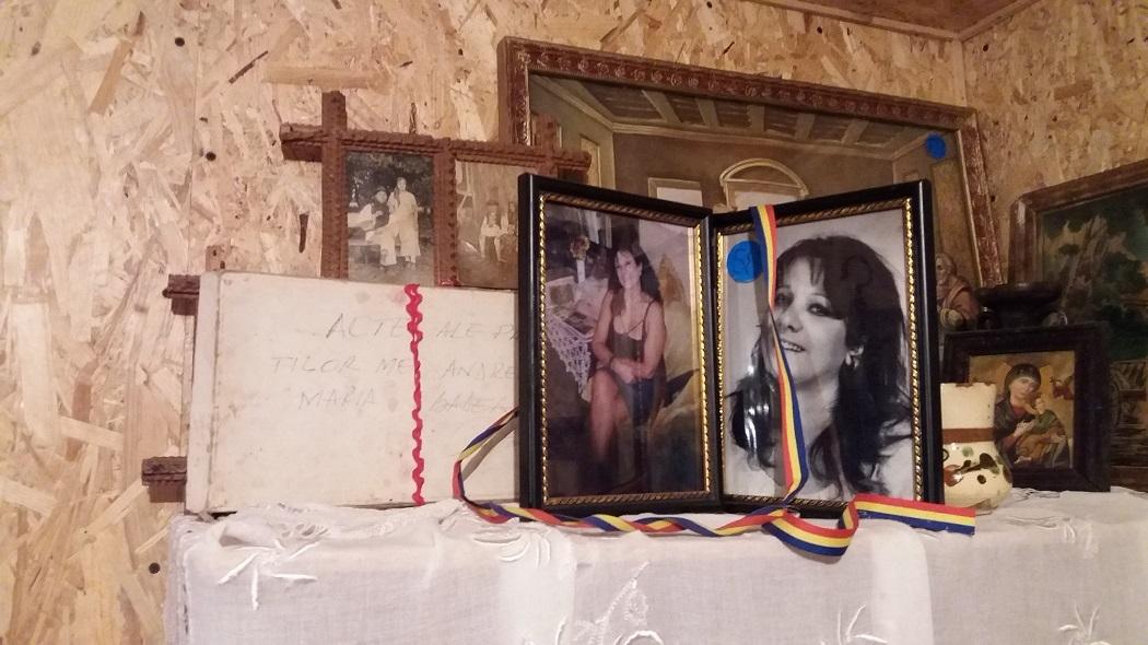 Altarul închinat soţiei scriitorului