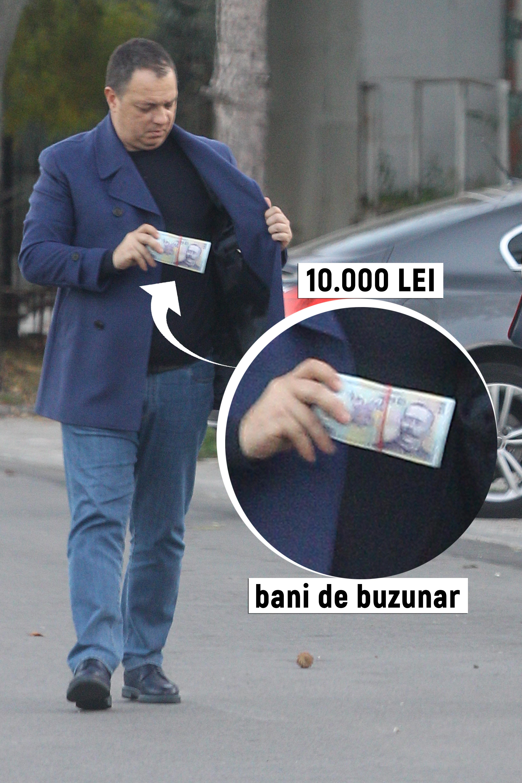 Marius Mihăiţă are în permanenţă la el 10.000 de lei, ca un adevărat frate de milionar